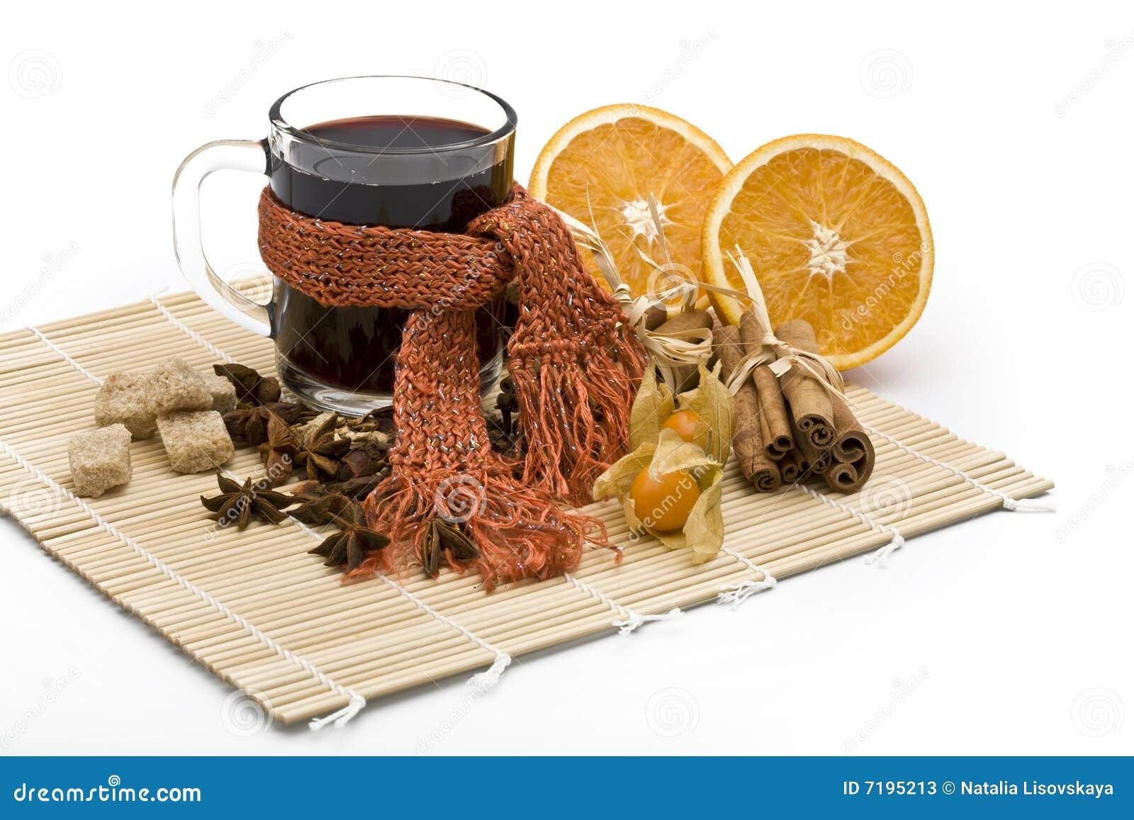 καυτό κρασί spicery φλυτζανιών