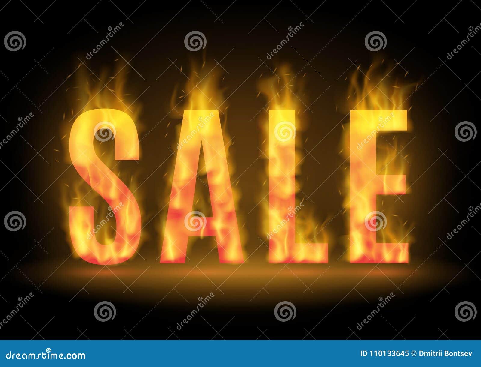 Καυτό σχέδιο πώλησης με την πυρκαγιά επίσης corel σύρετε το διάνυσμα απεικόνισης