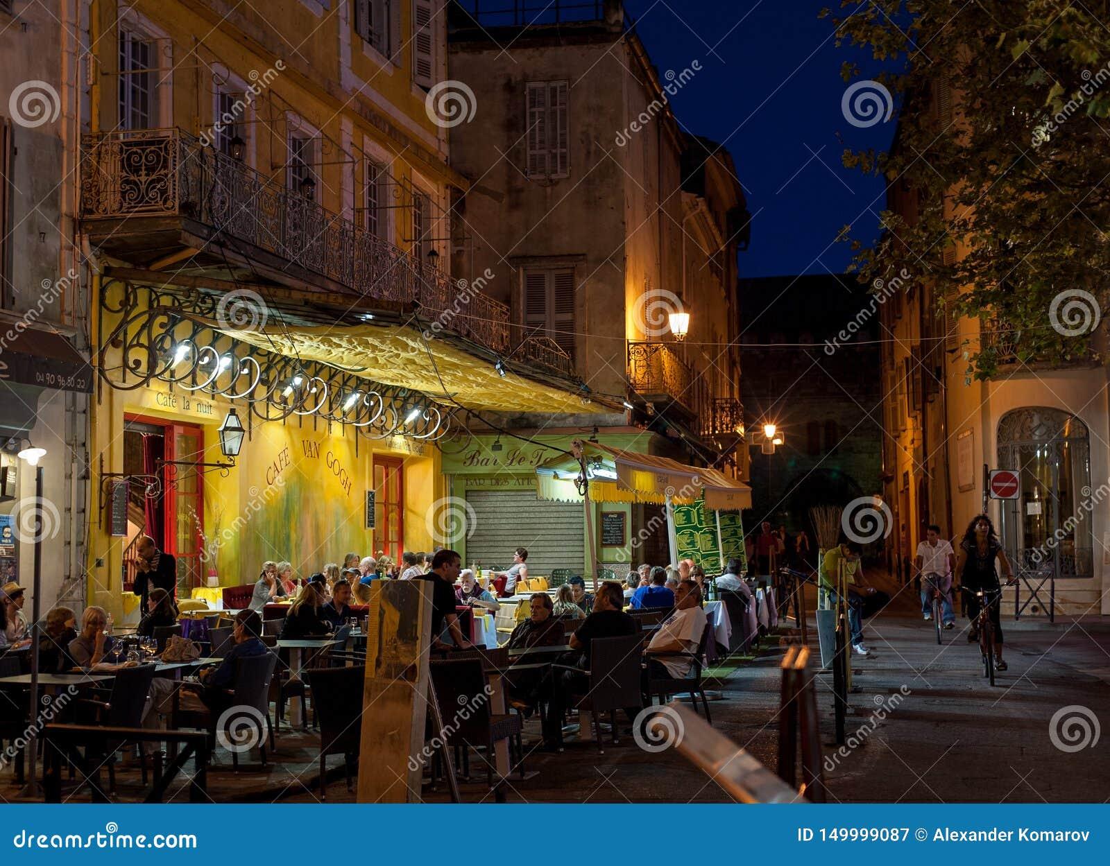 Καφές Βαν Γκογκ, Arles, Γαλλία