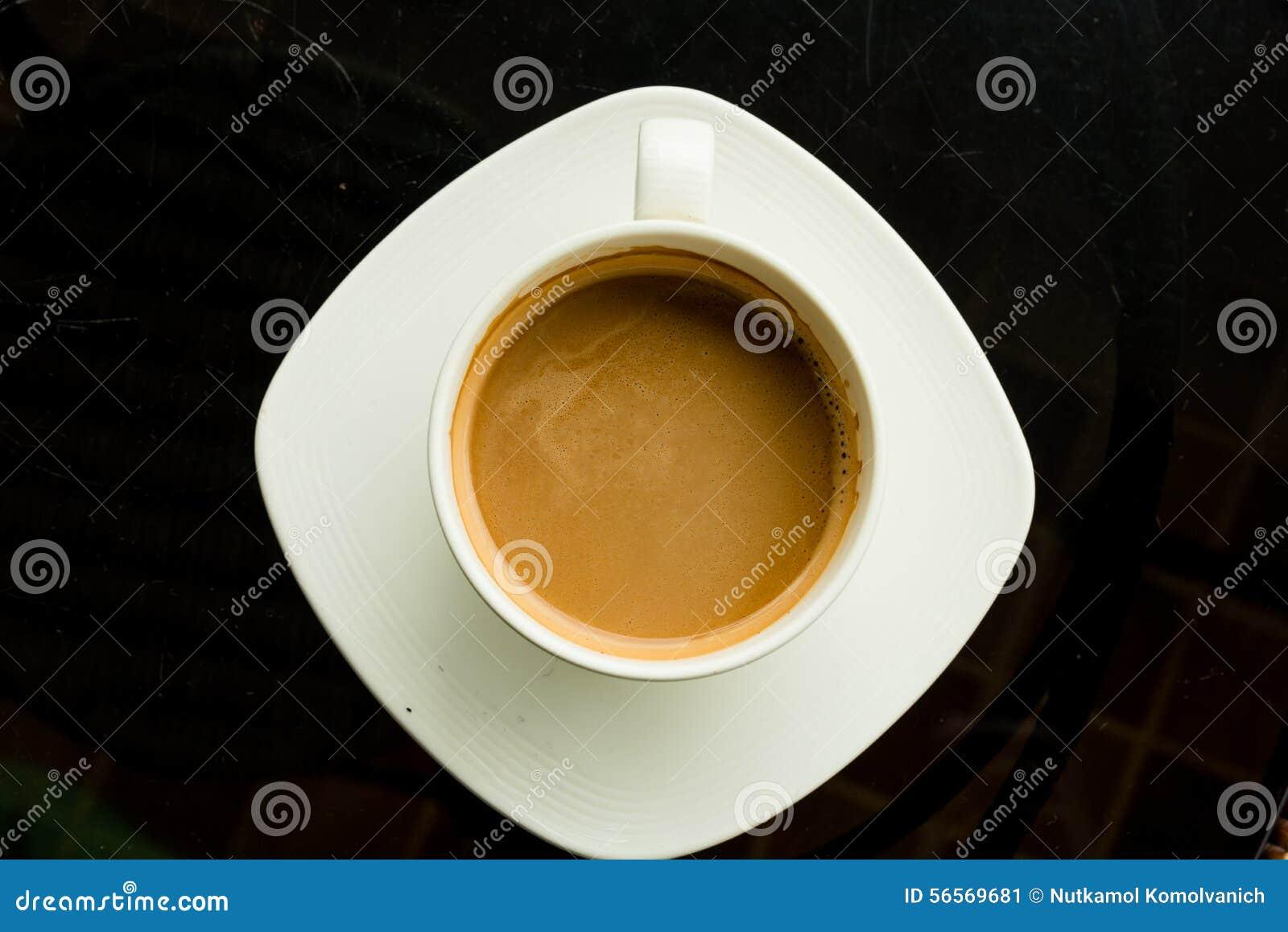 Download καφές καυτός στοκ εικόνα. εικόνα από cappuccino, όψη - 56569681