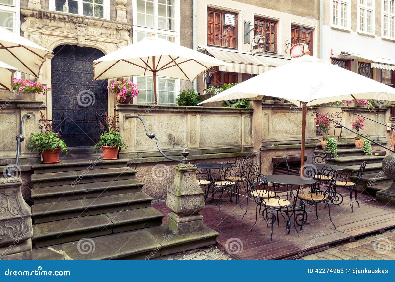 Καφές οδών του Γντανσκ Mariacka
