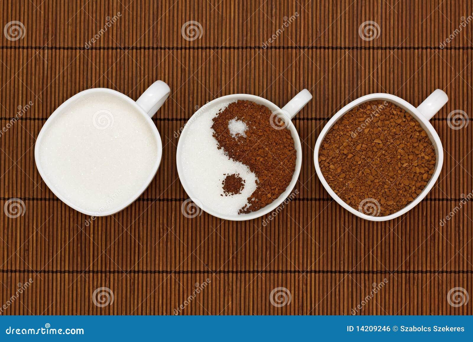 καφές yang yin