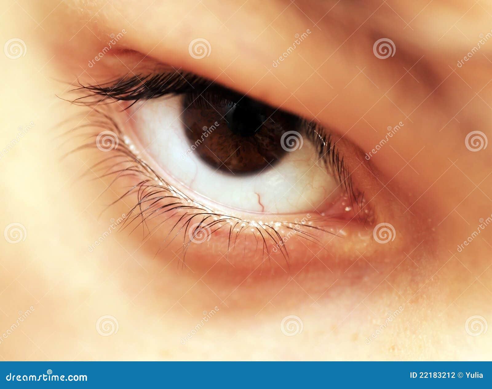 καφετί μάτι