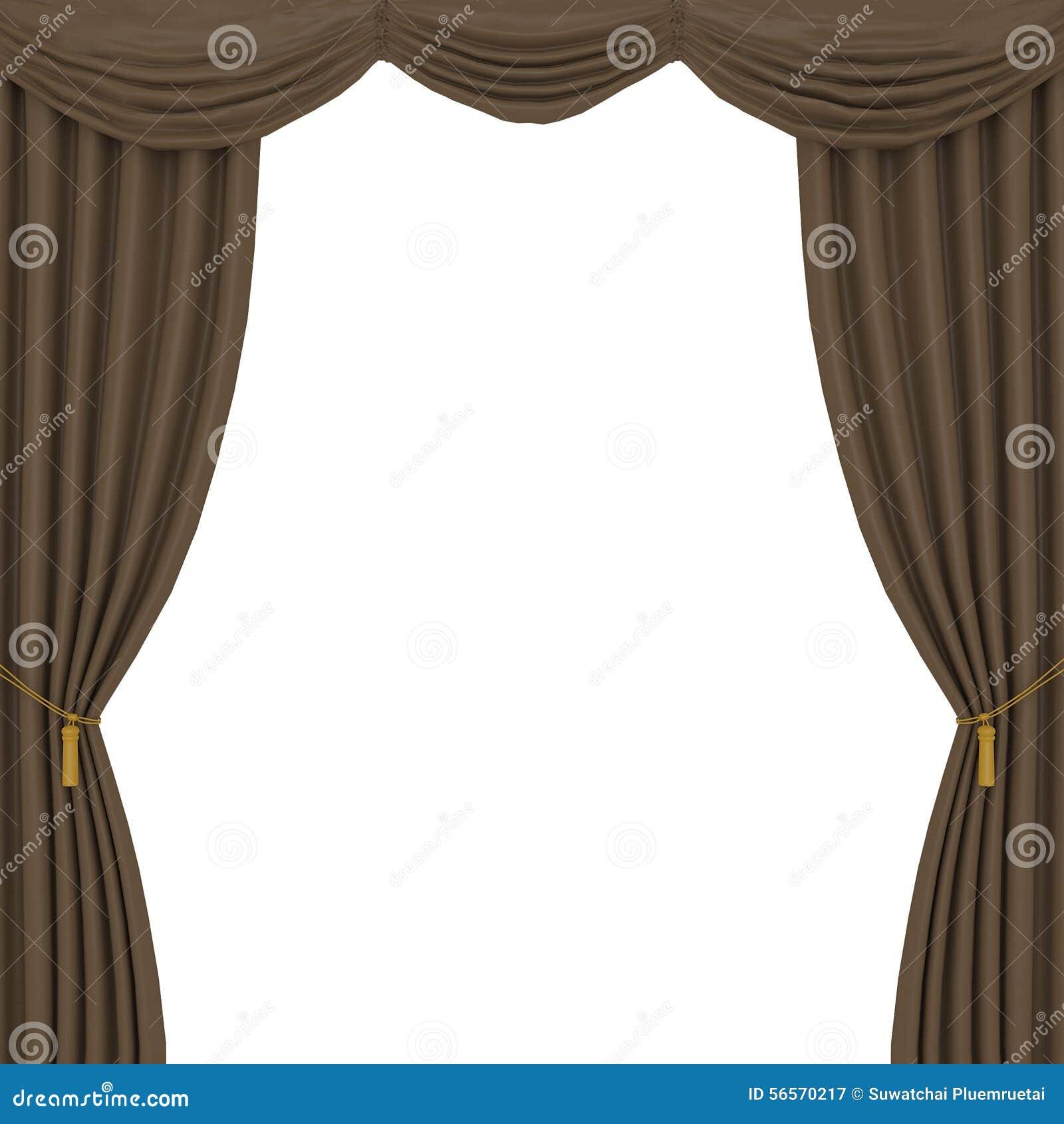 Download Καφετί υπόβαθρο κουρτινών απεικόνιση αποθεμάτων. εικονογραφία από κομψότητα - 56570217