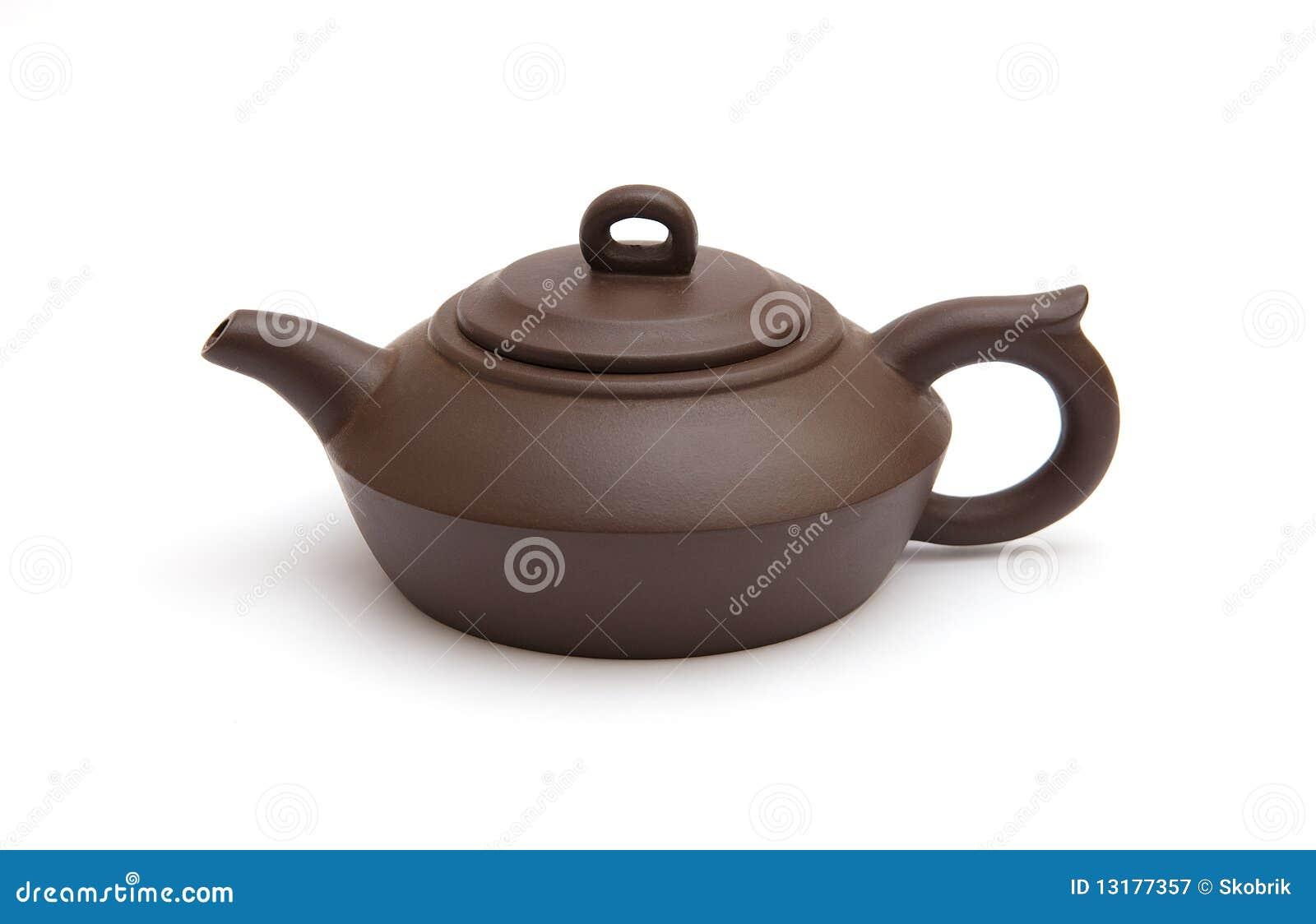 καφετί teapot