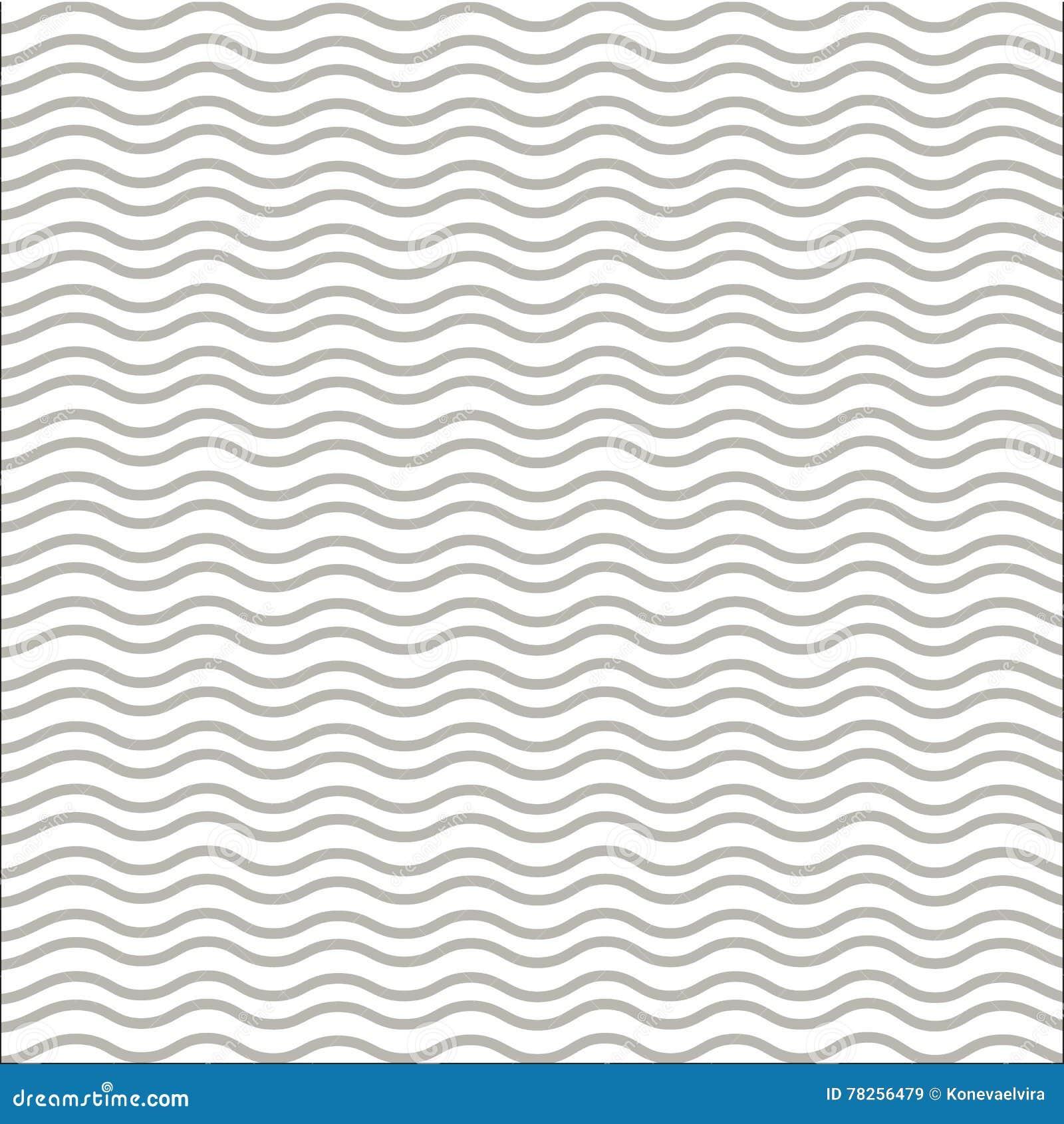 Καφετιά κυματιστή διανυσματική απεικόνιση γραμμών γεωμετρικό πρότυπο Άνευ ραφής ανασκόπηση Αφηρημένη σύσταση για τις ταπετσαρίες