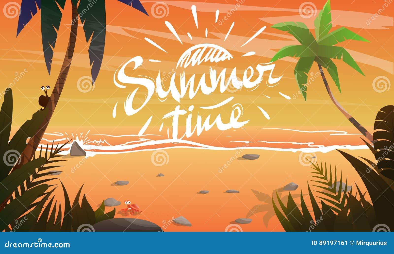 Καλοκαίρι στην ωκεάνια ακτή
