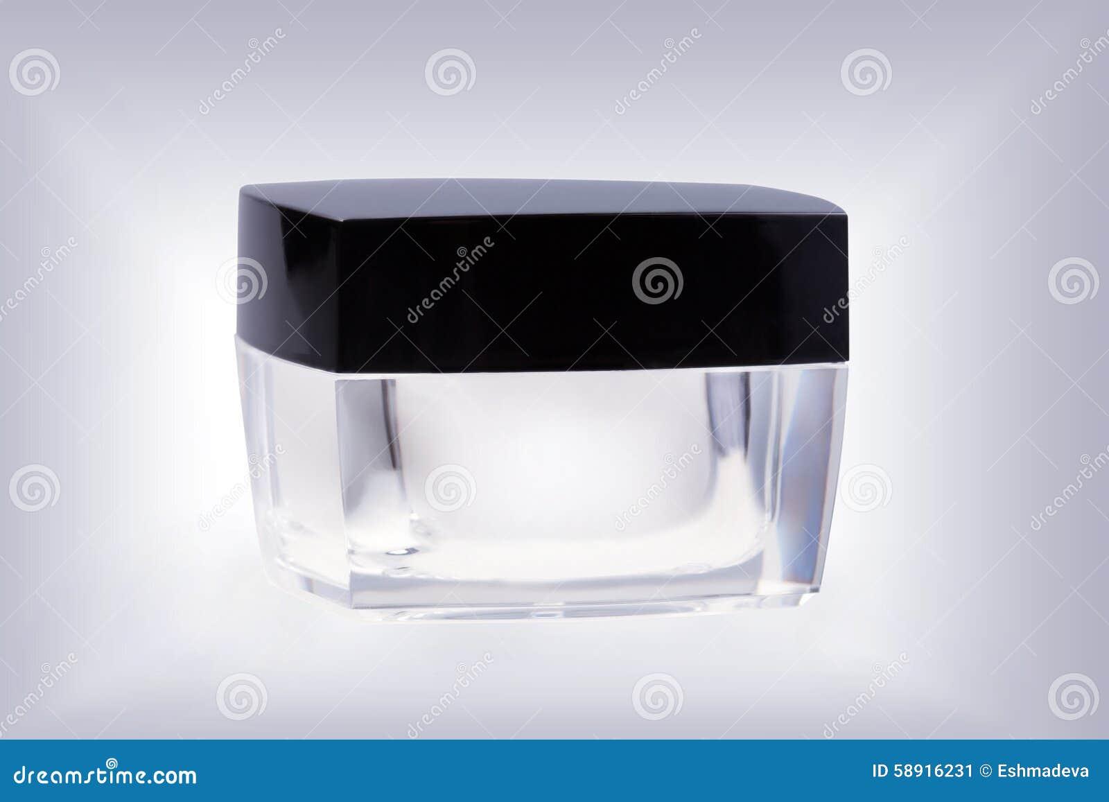 Καλλυντικό βάζο γυαλιού