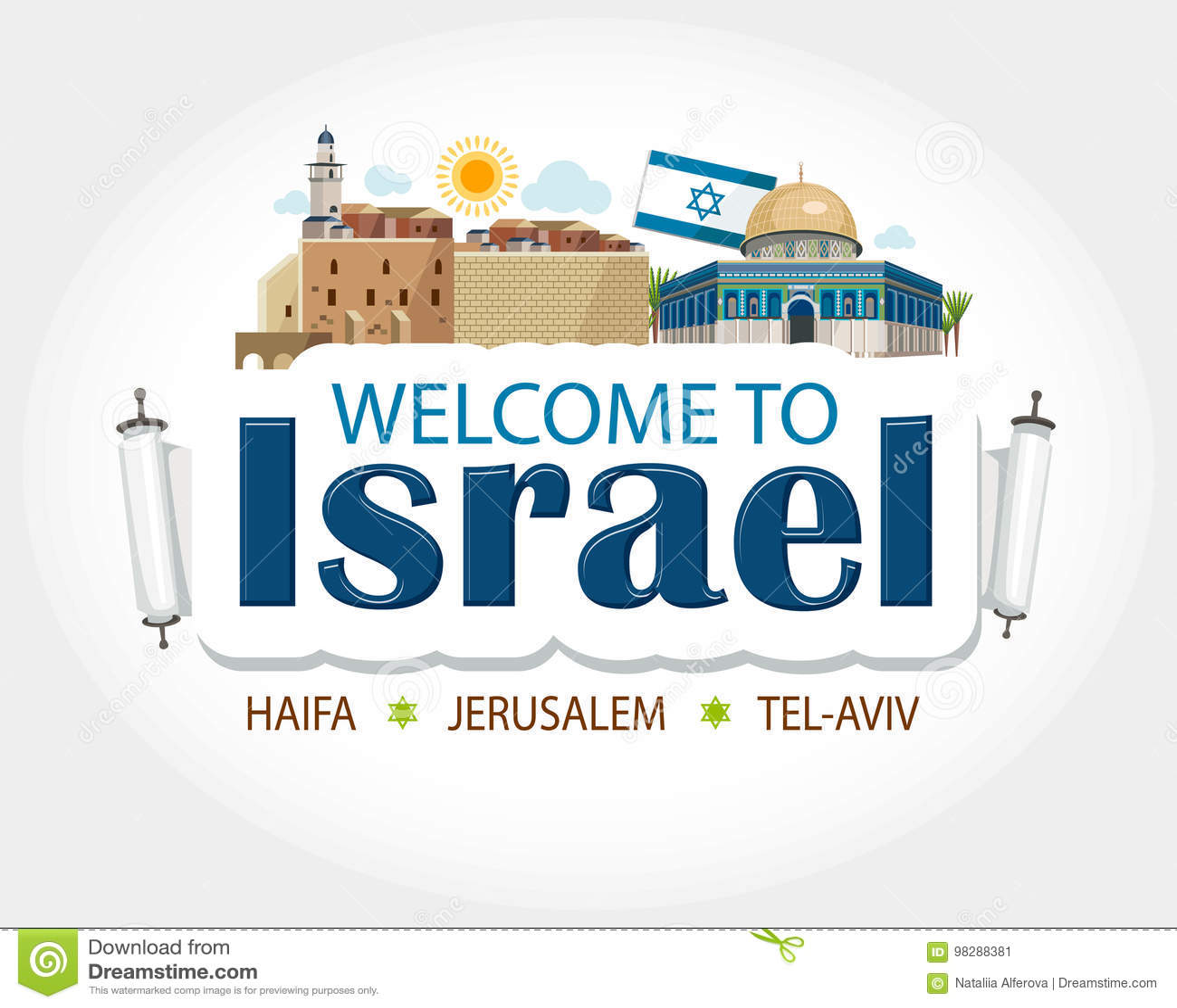 Κείμενο επιγραφών του Ισραήλ