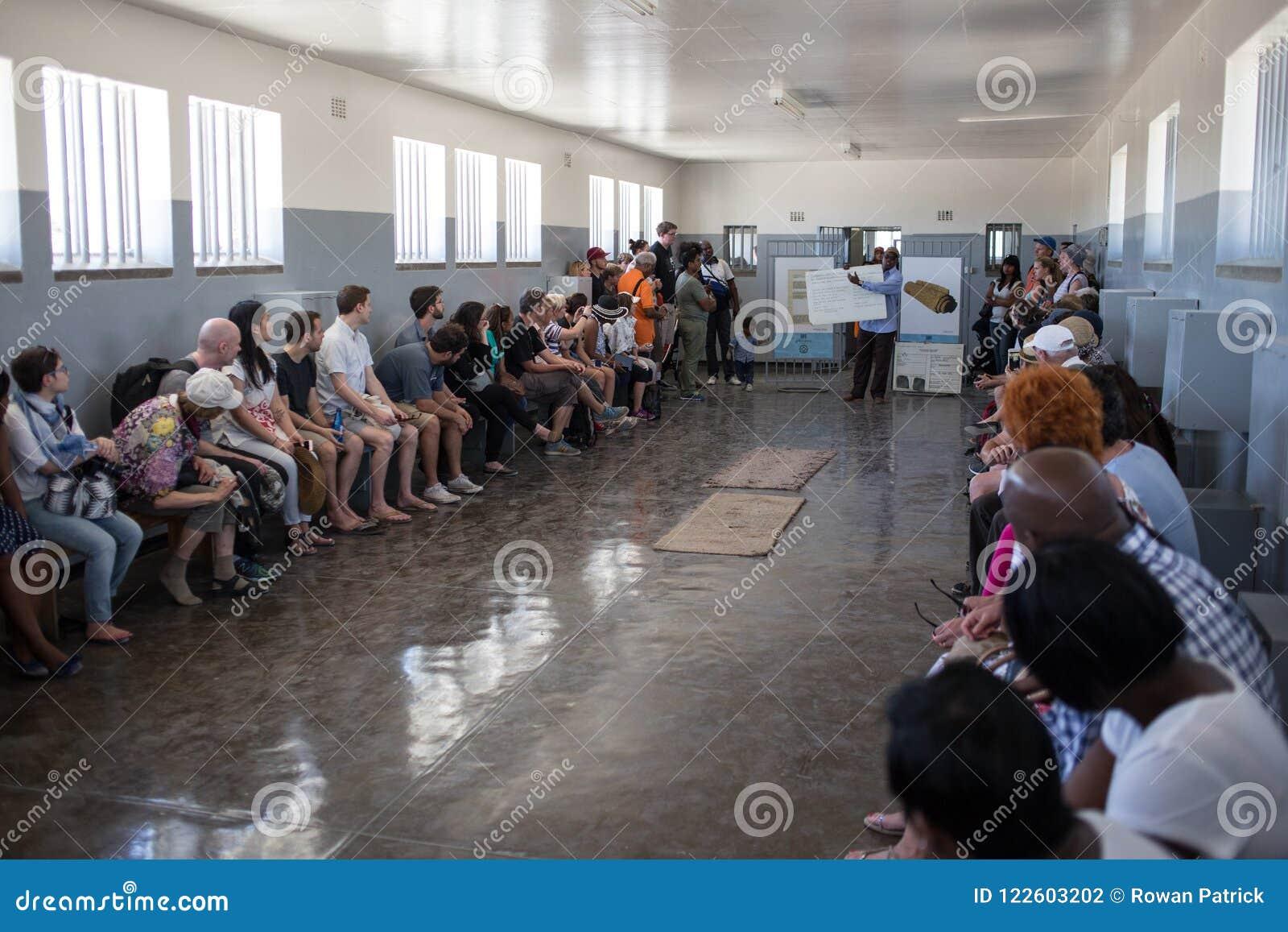 Κελί φυλακής νησιών Robben