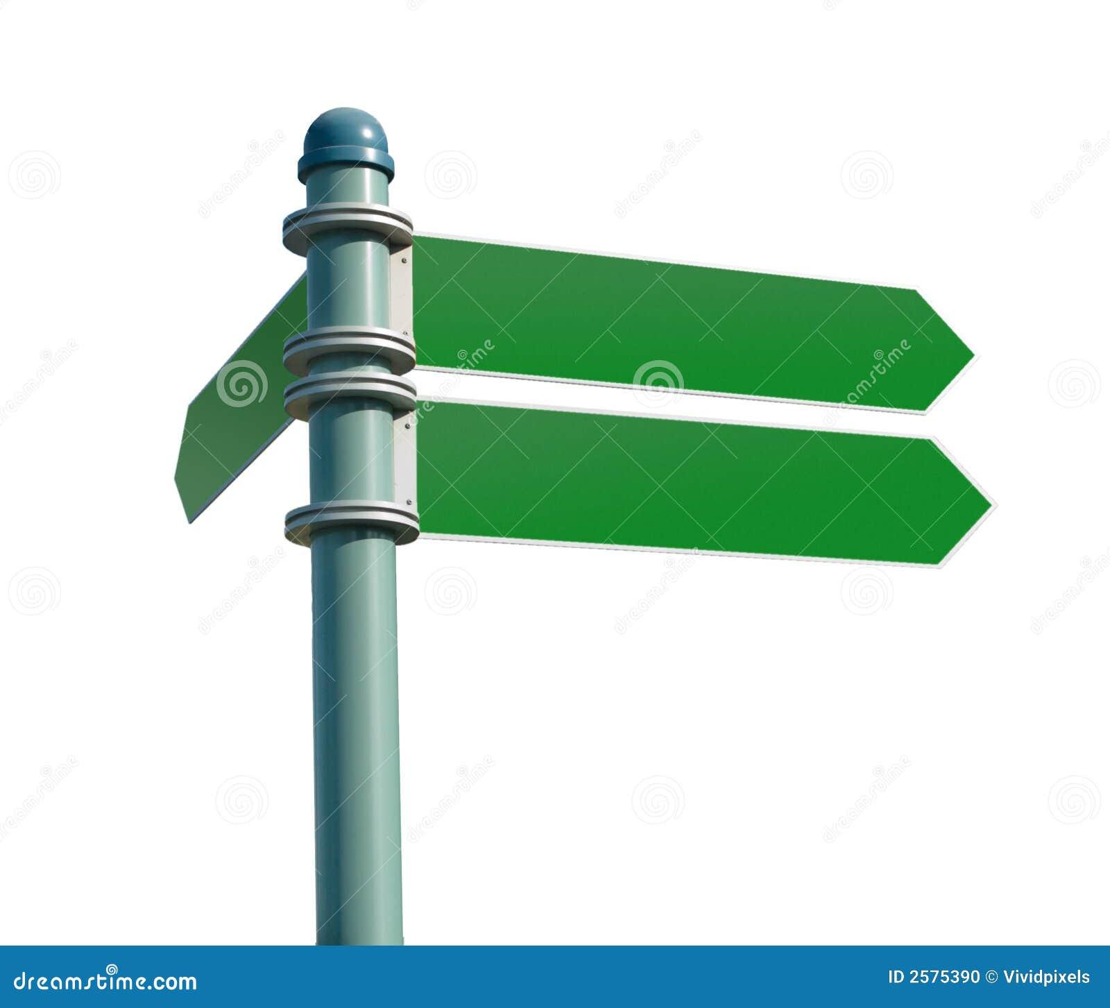 κενή μετα οδός σημαδιών