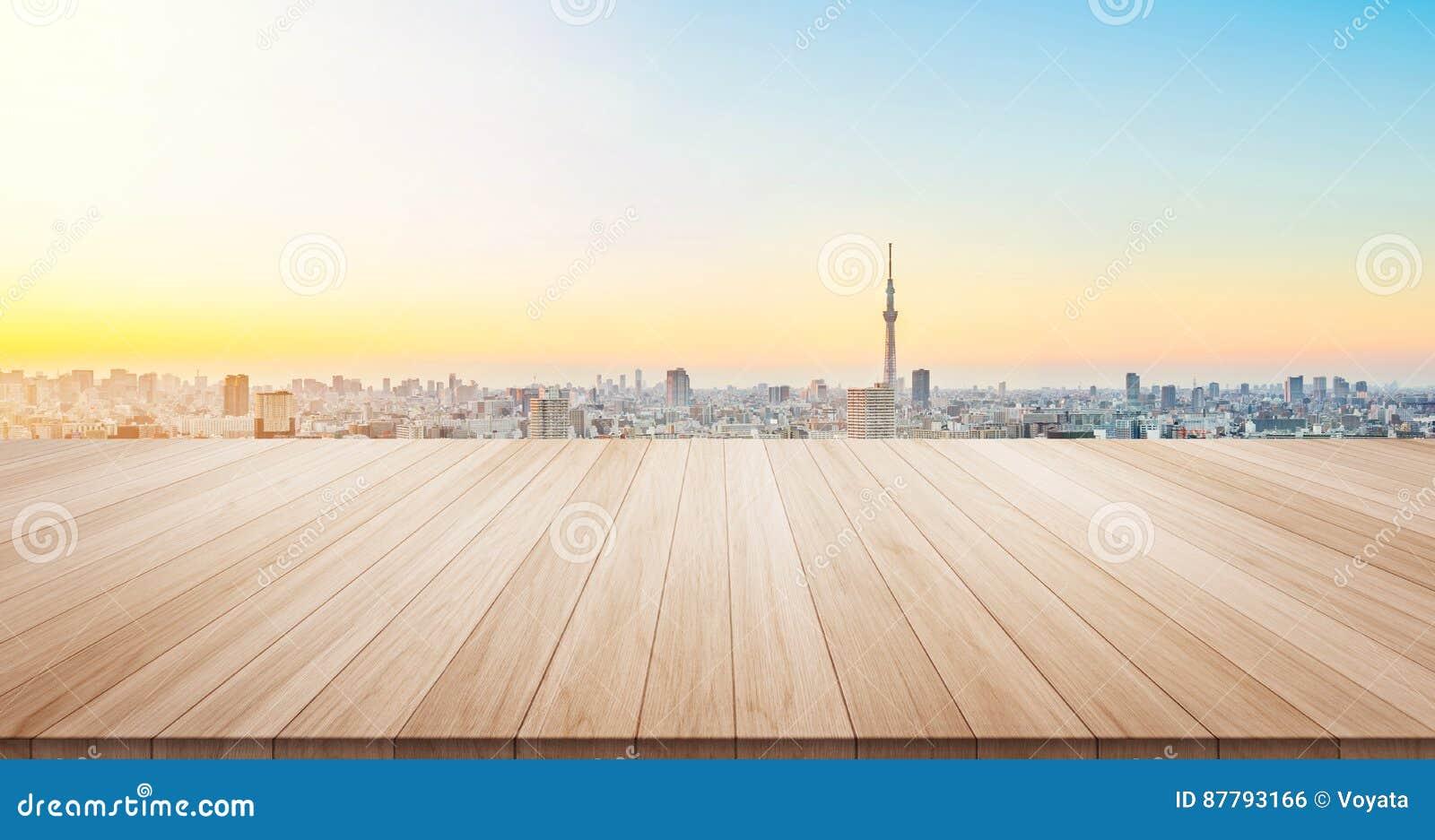 Κενή ξύλινη κορυφή επιτραπέζιων πατωμάτων για το προϊόν επίδειξης ή montage