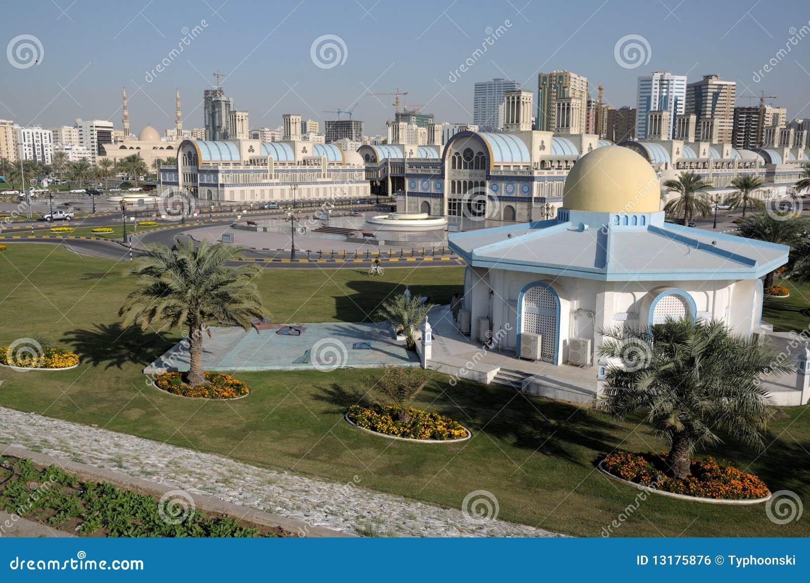 κεντρική πόλη Σάρτζα souq
