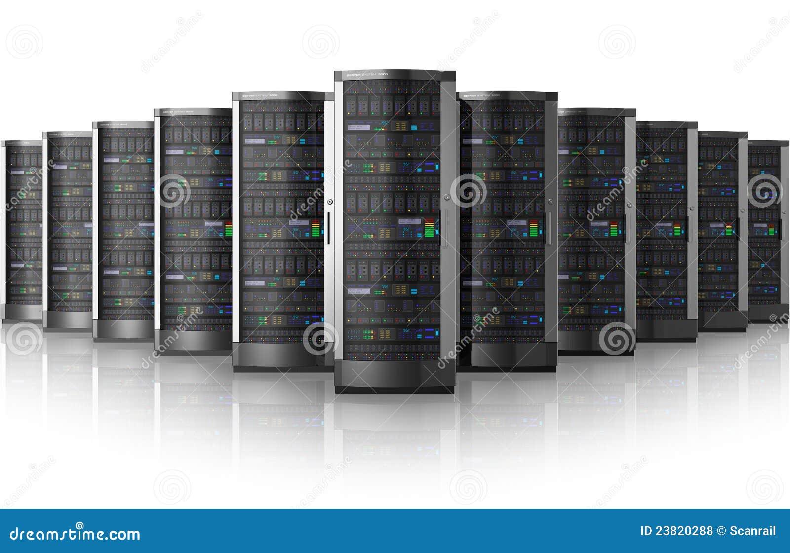 κεντρικοί υπολογιστές σειρών κεντρικών δικτύων δεδομένων