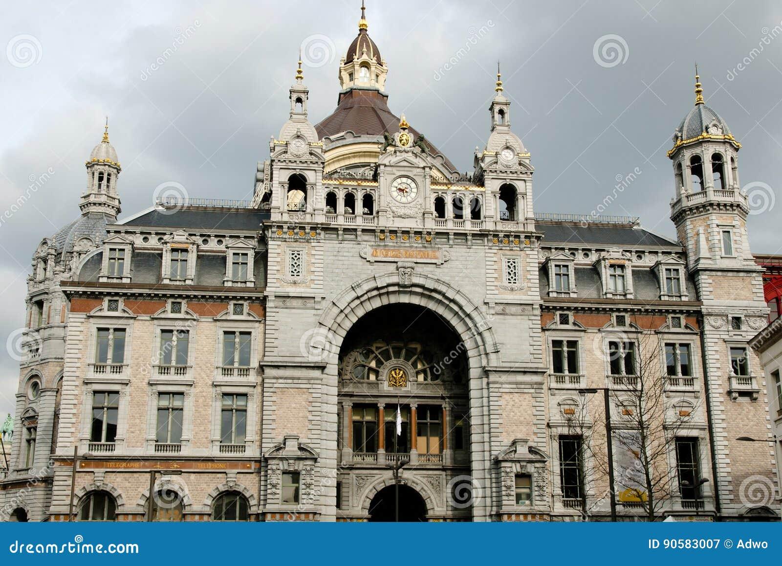 Κεντρικός σιδηροδρομικός σταθμός - Αμβέρσα - Βέλγιο