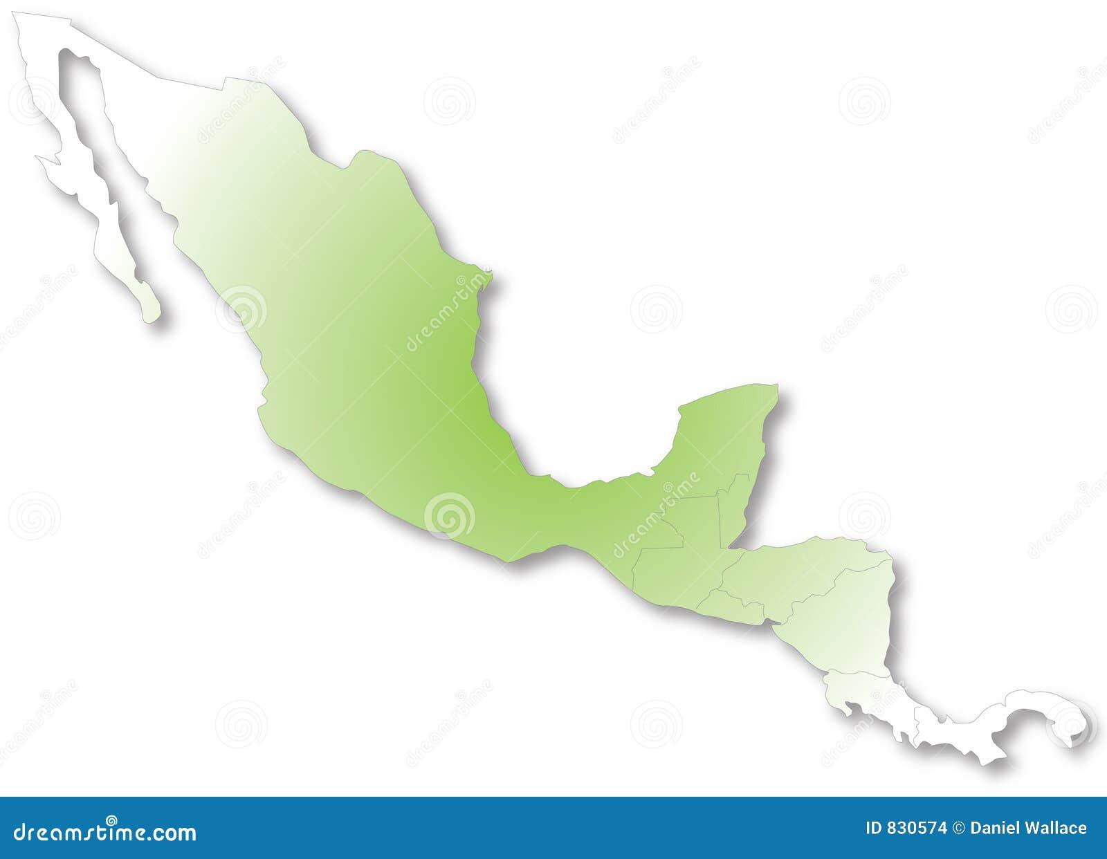 κεντρικός χάρτης της Αμερ&io
