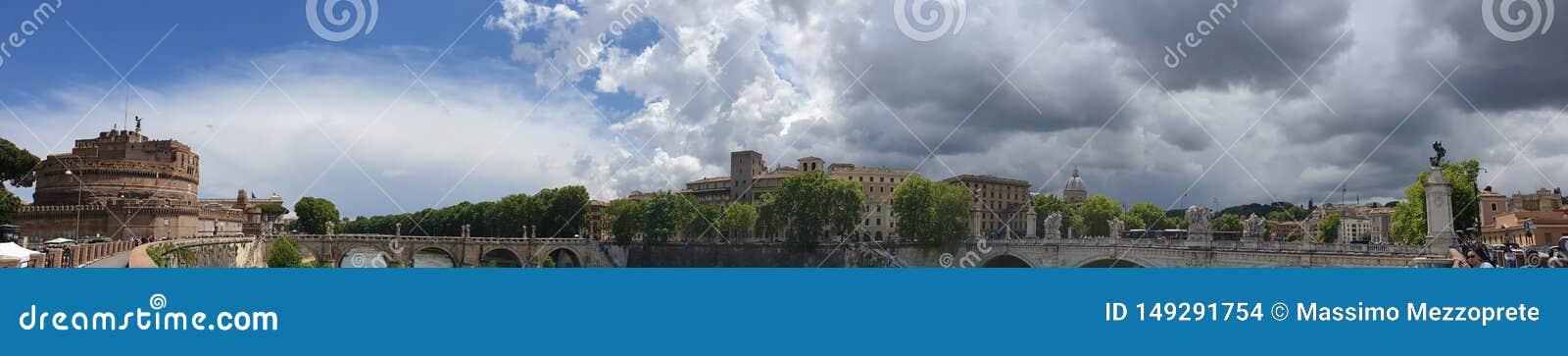Κεντρικό πανόραμα της Ρώμης