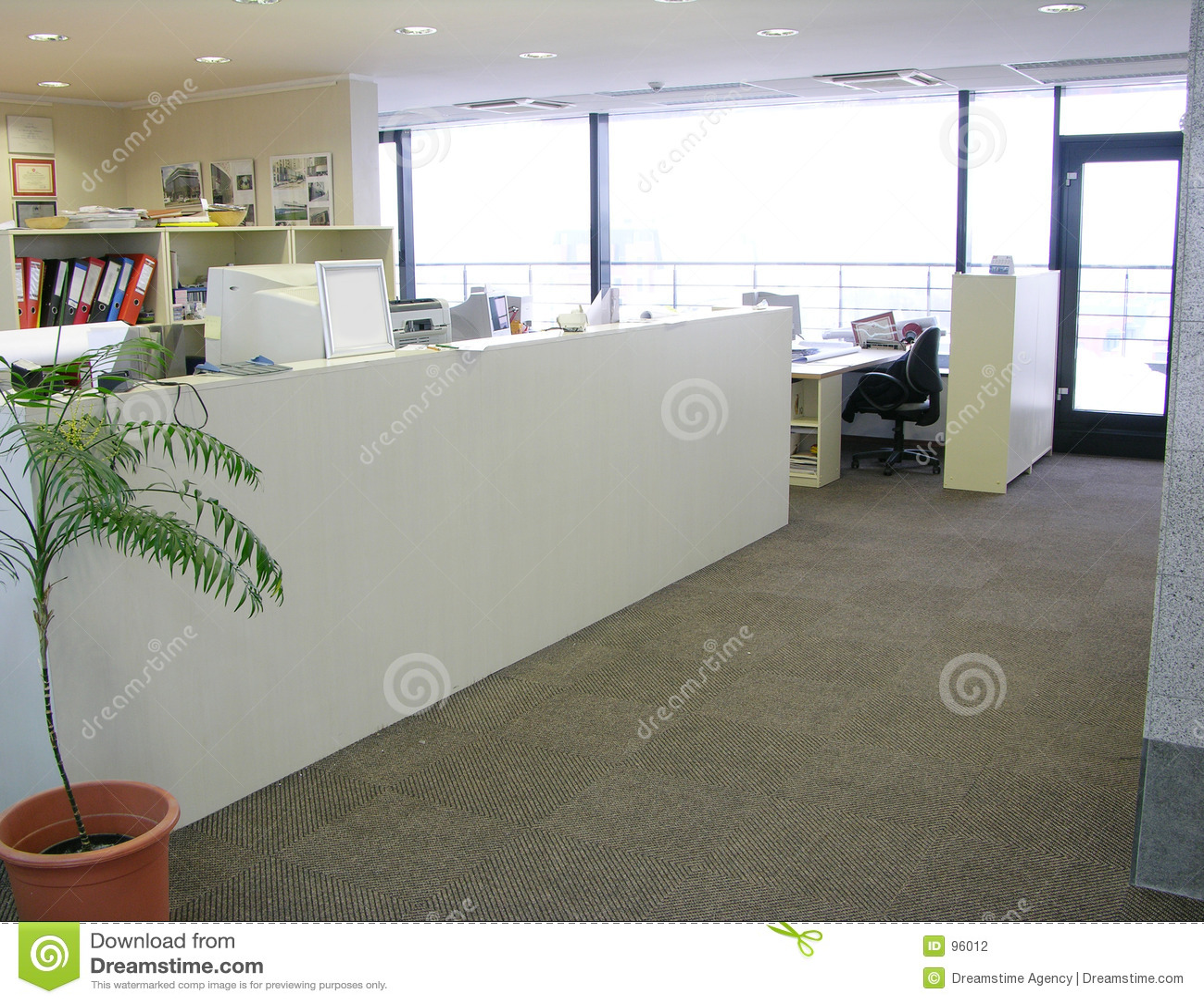 κενό γραφείο