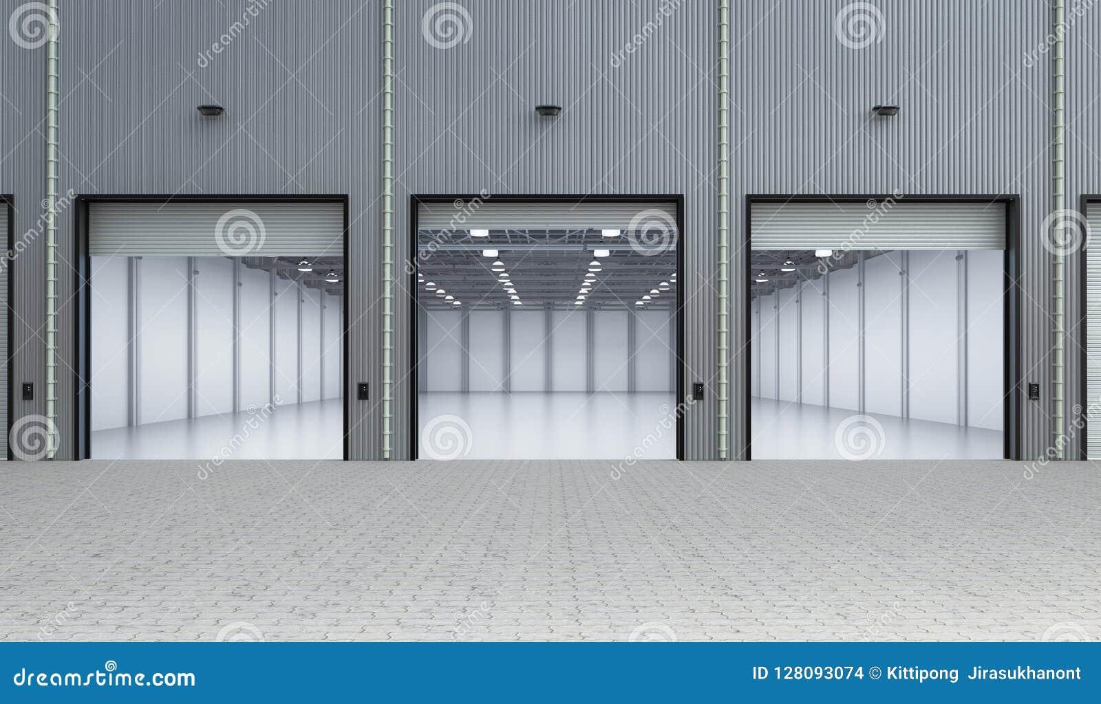 κενό εσωτερικό εργοστα&s