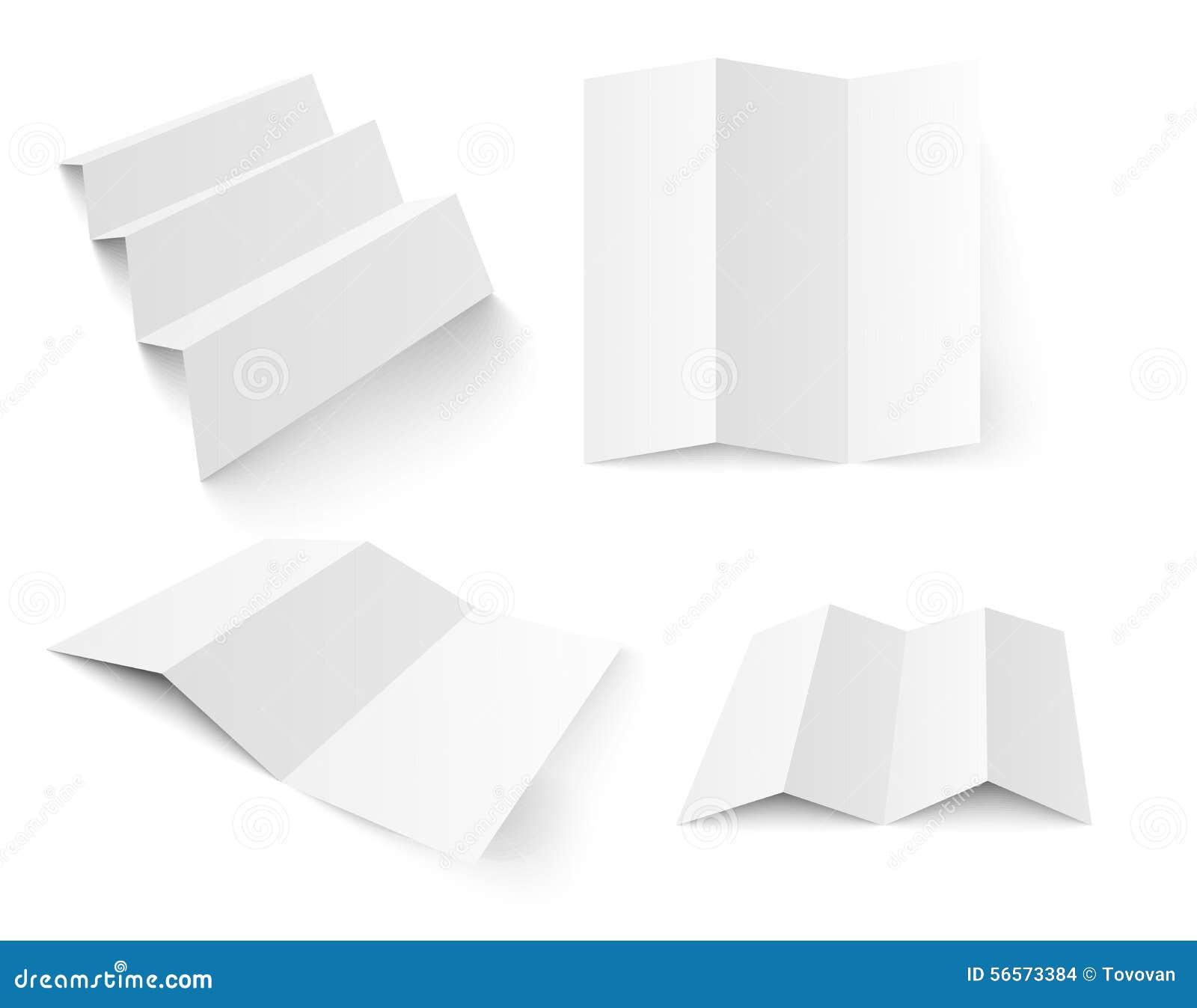 Download κενό λευκό προτύπων βιβλιάριων Διανυσματική απεικόνιση - εικονογραφία από κενός, απομονωμένος: 56573384