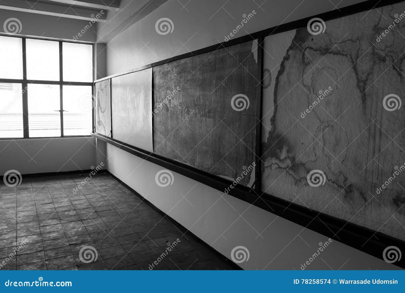 κενό παλαιό δωμάτιο