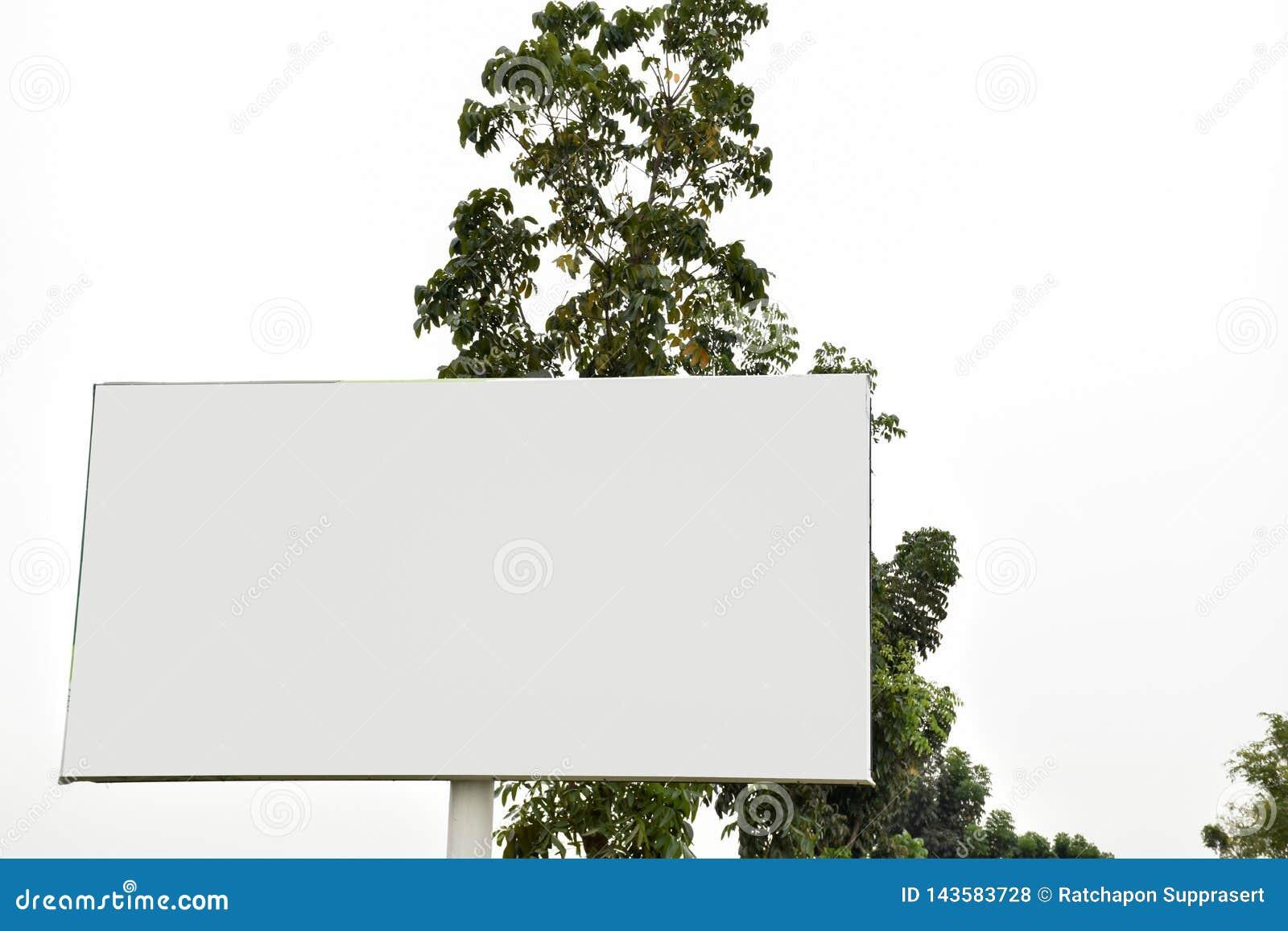 Κενό πινάκων διαφημίσεων για την υπαίθρια αφίσα διαφήμισης