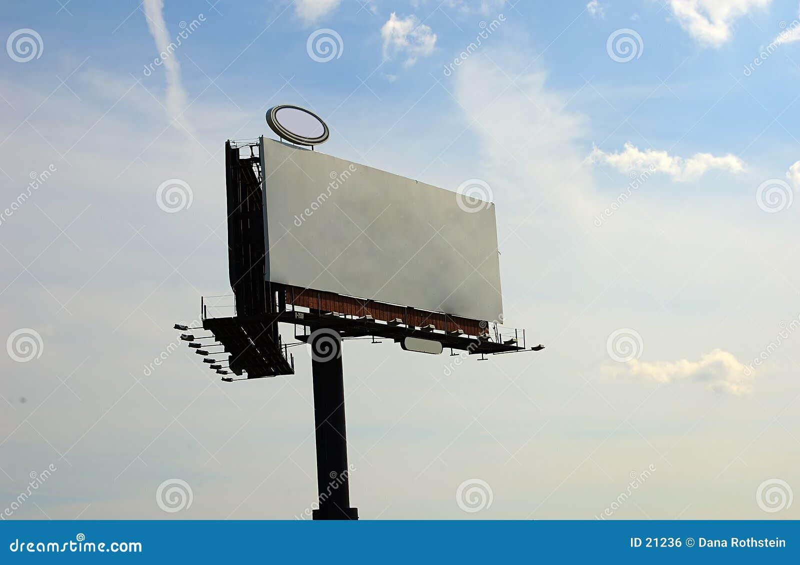 κενό πινάκων διαφημίσεων