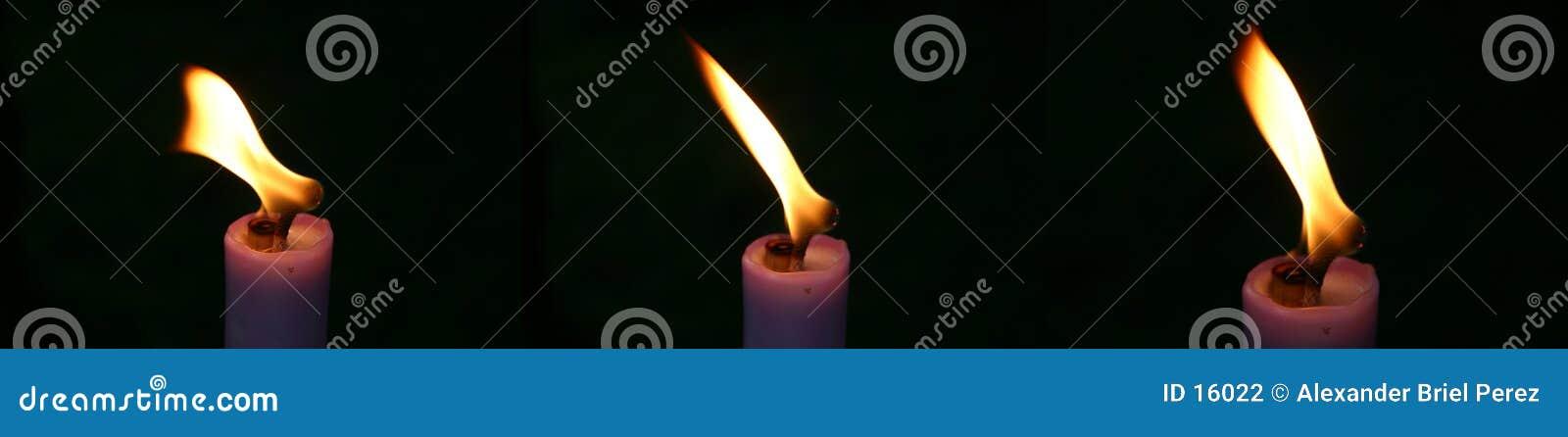 κερί τρία