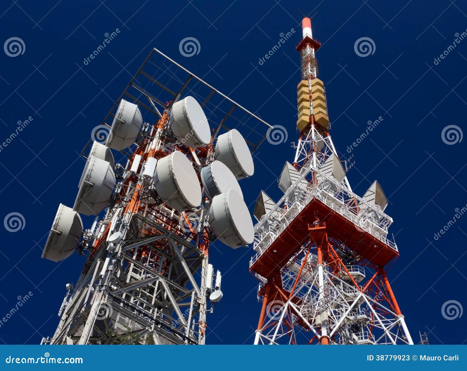 Κεραίες τηλεπικοινωνιών