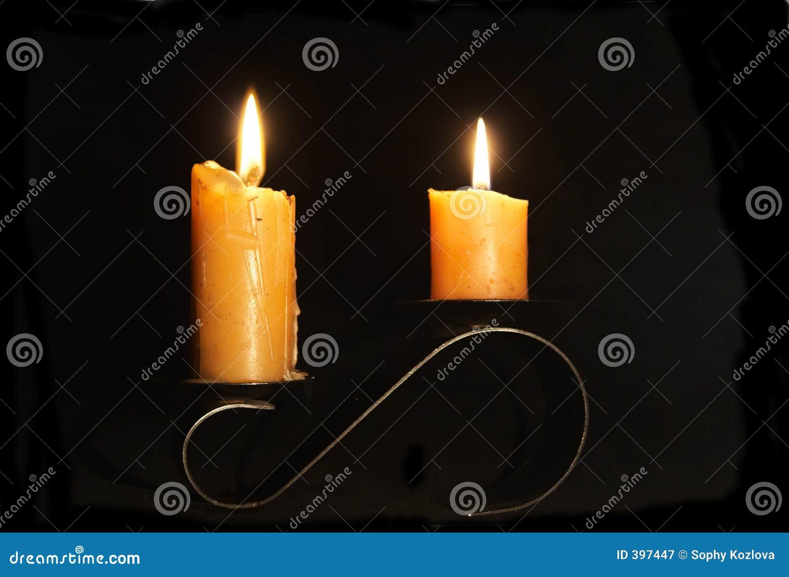 κεριά δύο