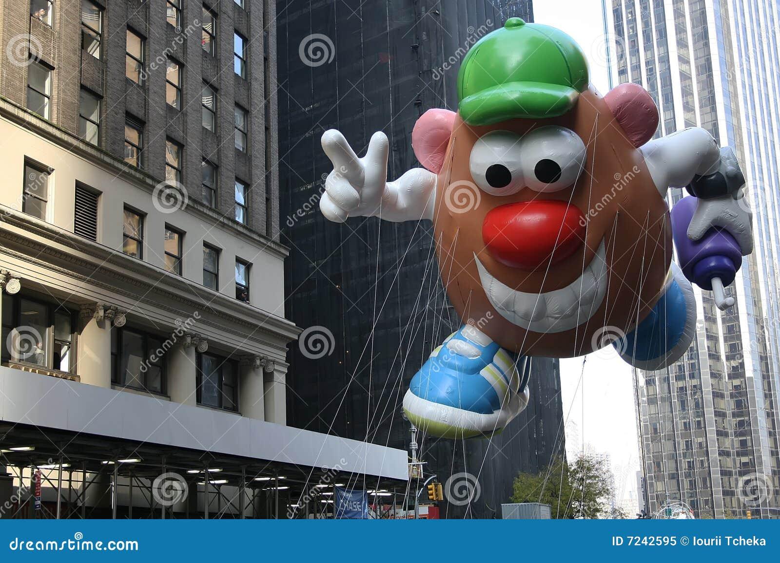 κεφάλι μπαλονιών ο κ. potato