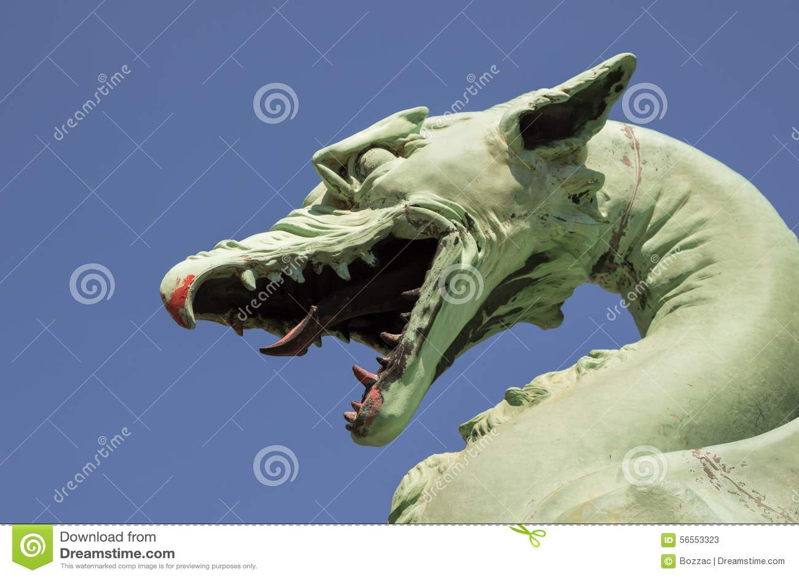 Download Κεφάλι δράκων στοκ εικόνα. εικόνα από μυθολογία, παραμύθι - 56553323