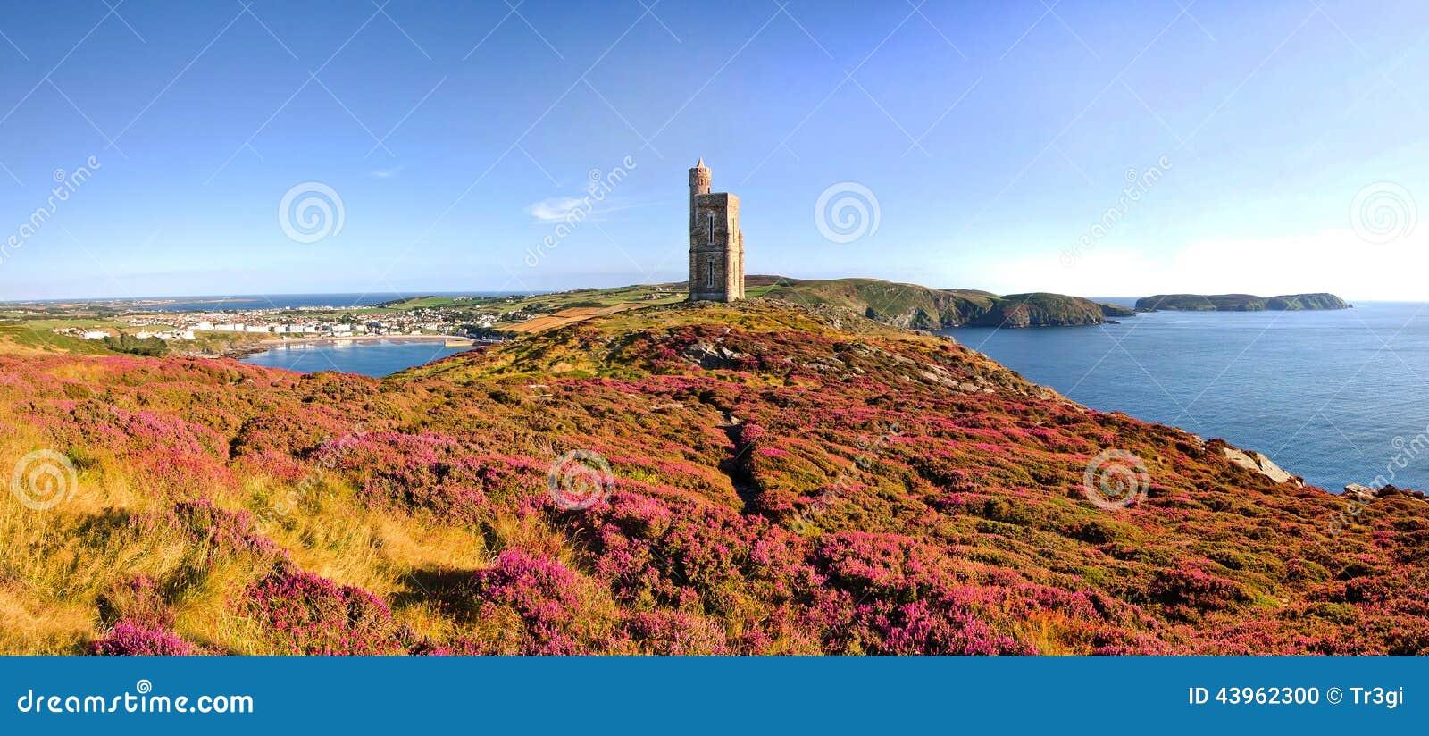 Κεφάλι Brada, λιμένας Erin, μόσχος Mann - του Isle of Man