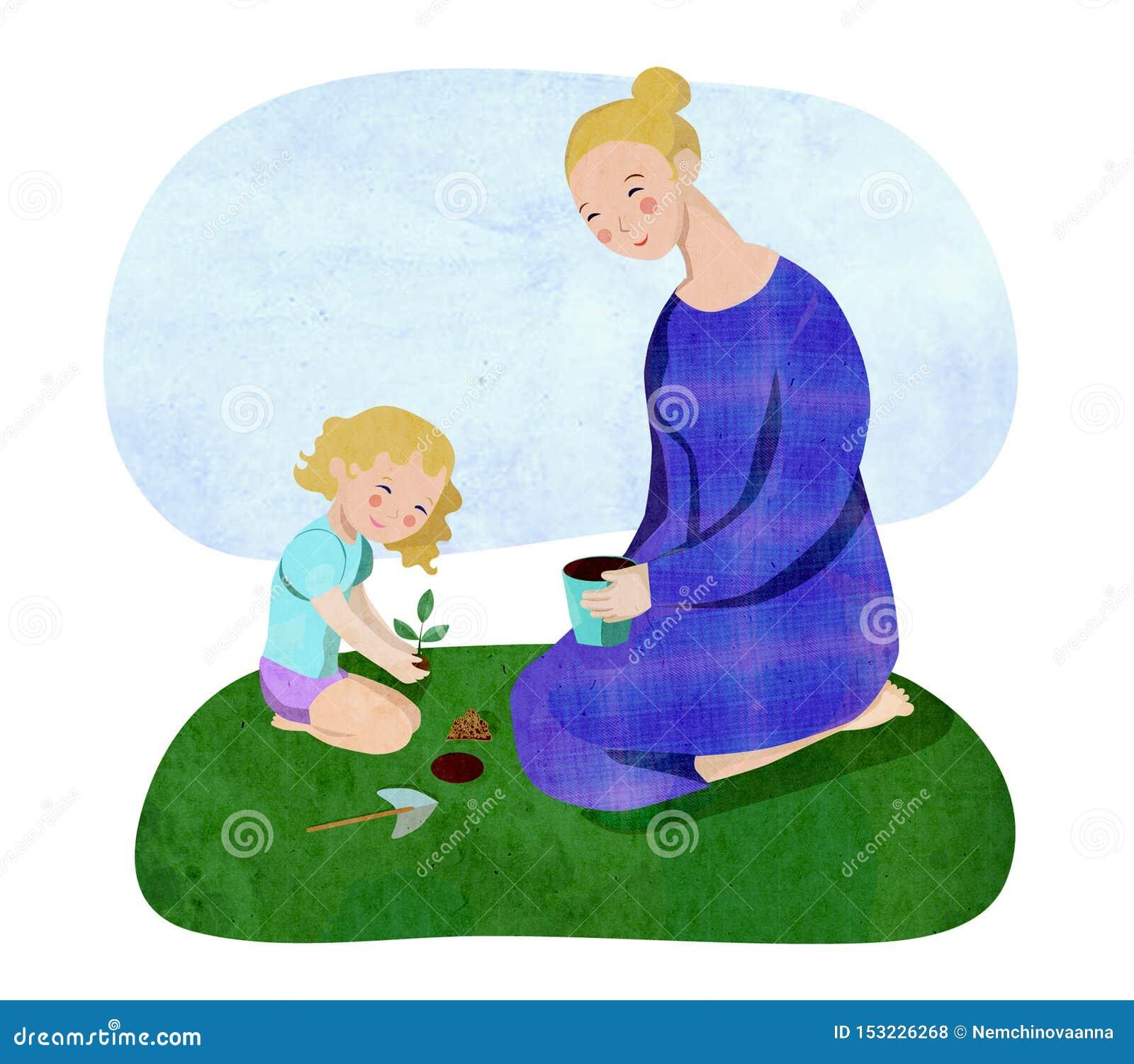 Κηπουρική μητέρων και κορών