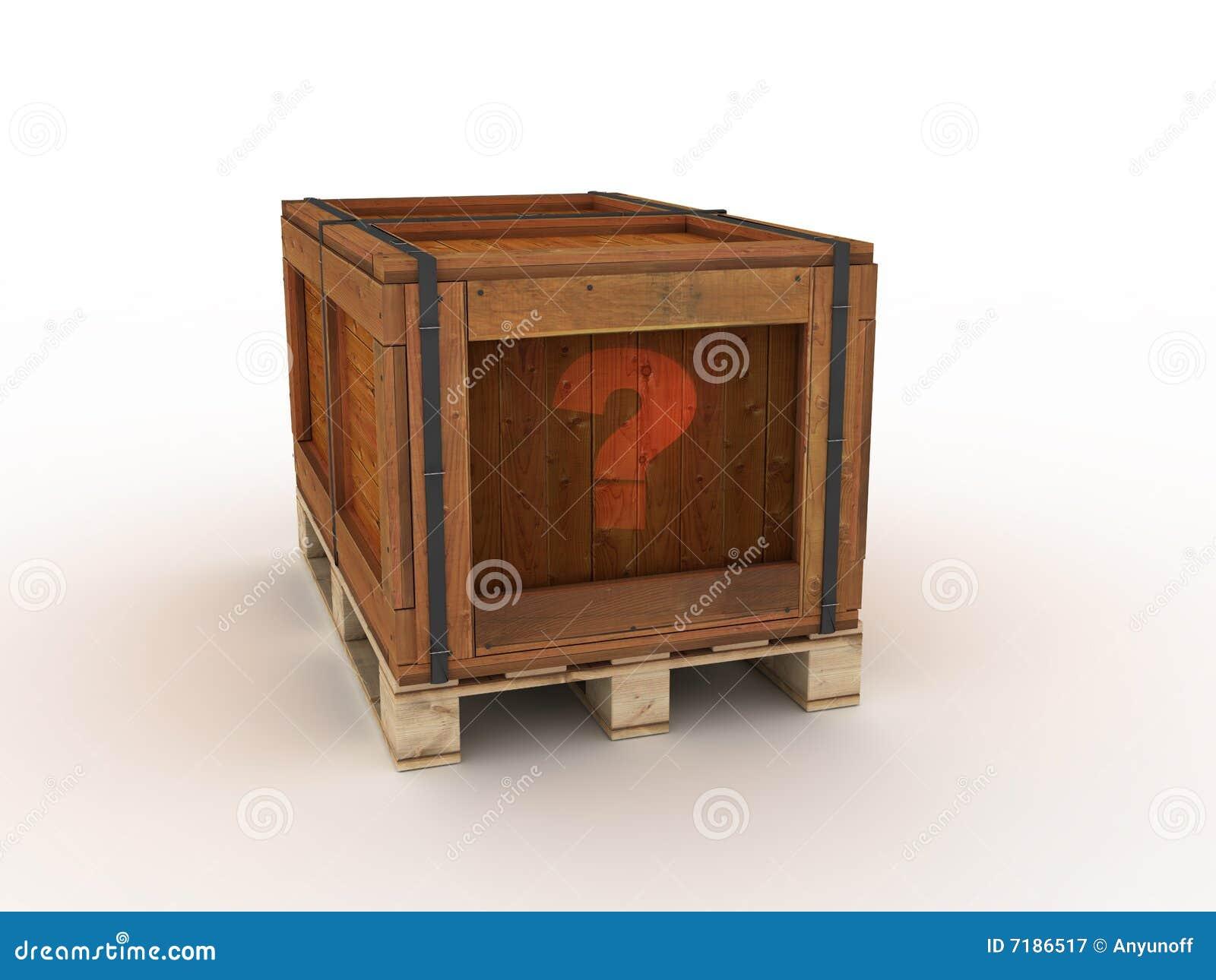 κιβώτιο ξύλινο