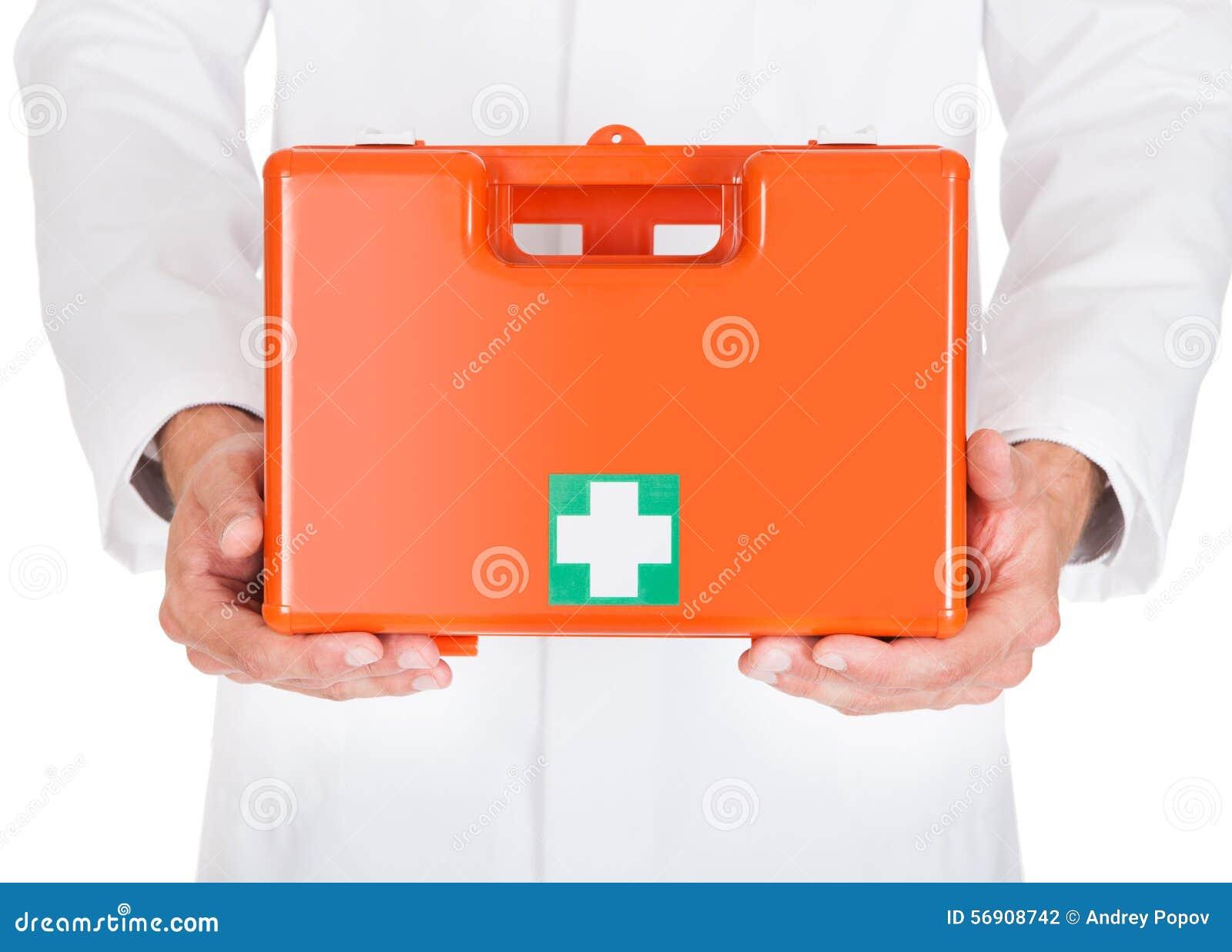 Κιβώτιο πρώτων βοηθειών εκμετάλλευσης γιατρών