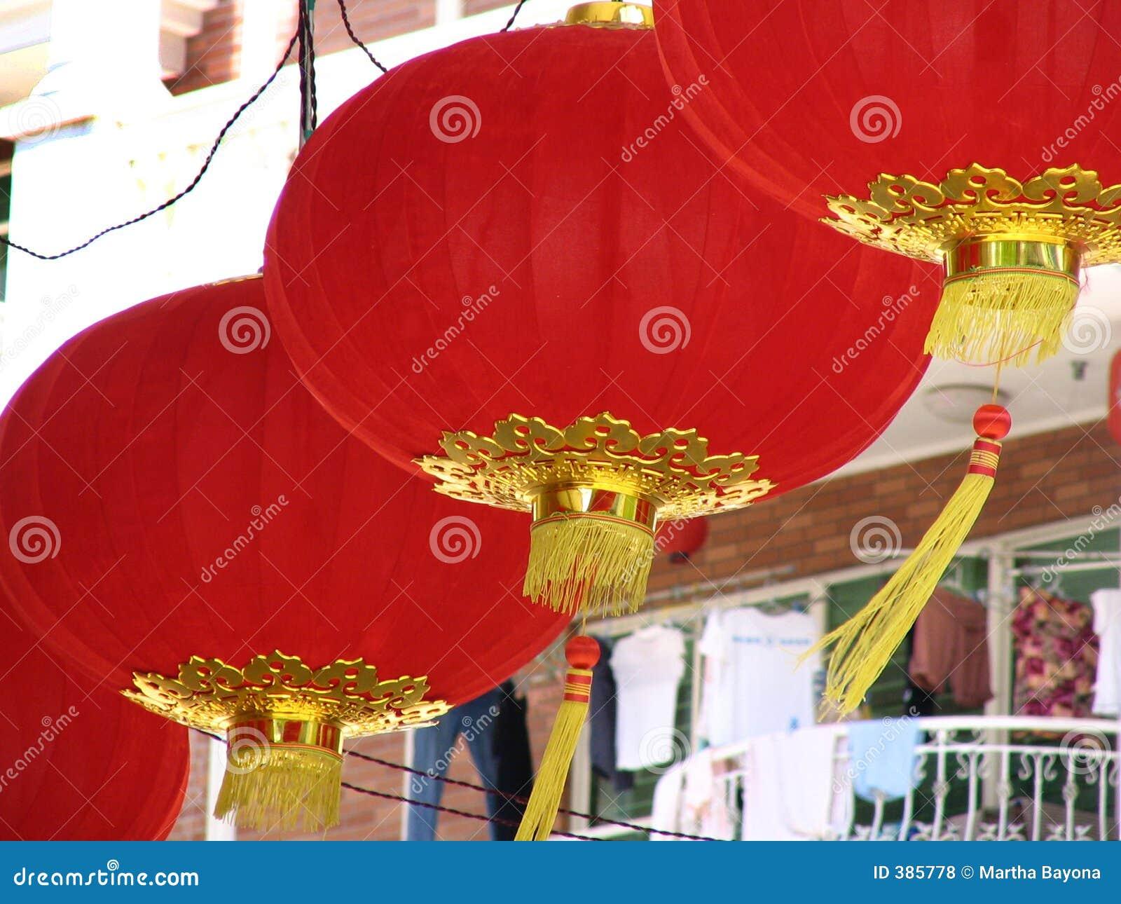 κινεζικά φανάρια ενδυμάτων