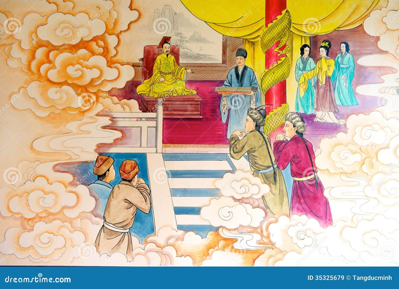 Κινεζική ζωγραφική ιστορίας