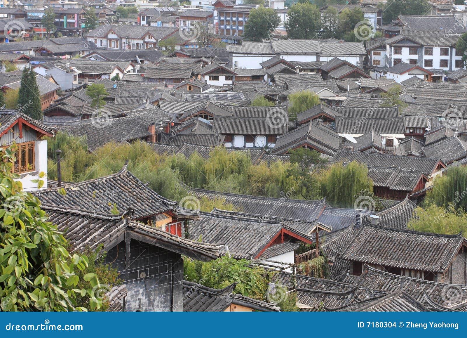 κινεζική παλαιά πόλη στεγώ&