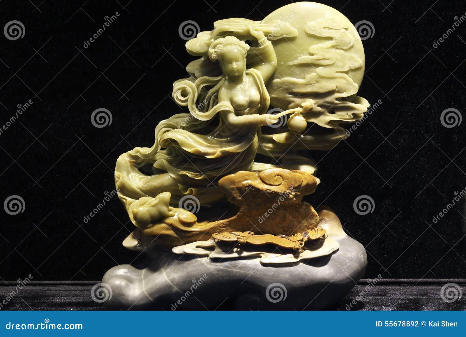 Κινεζικοί χαρακτήρες μυθολογίας στην τέχνη χάραξης πετρών της ιστορίας