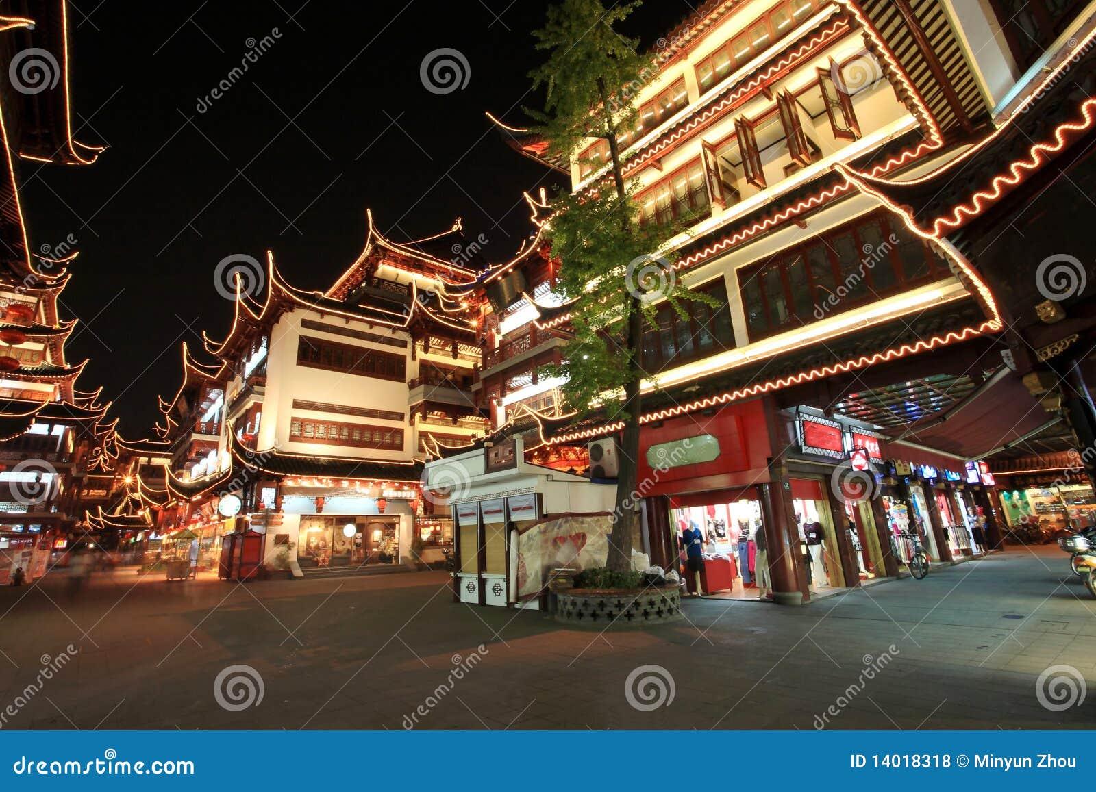 κινεζικός κήπος Σαγγάη τη