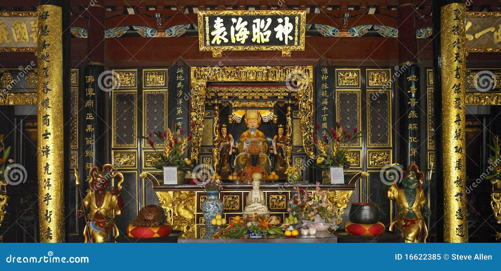 κινεζικός hock keng ναός Σινγκαπ&o