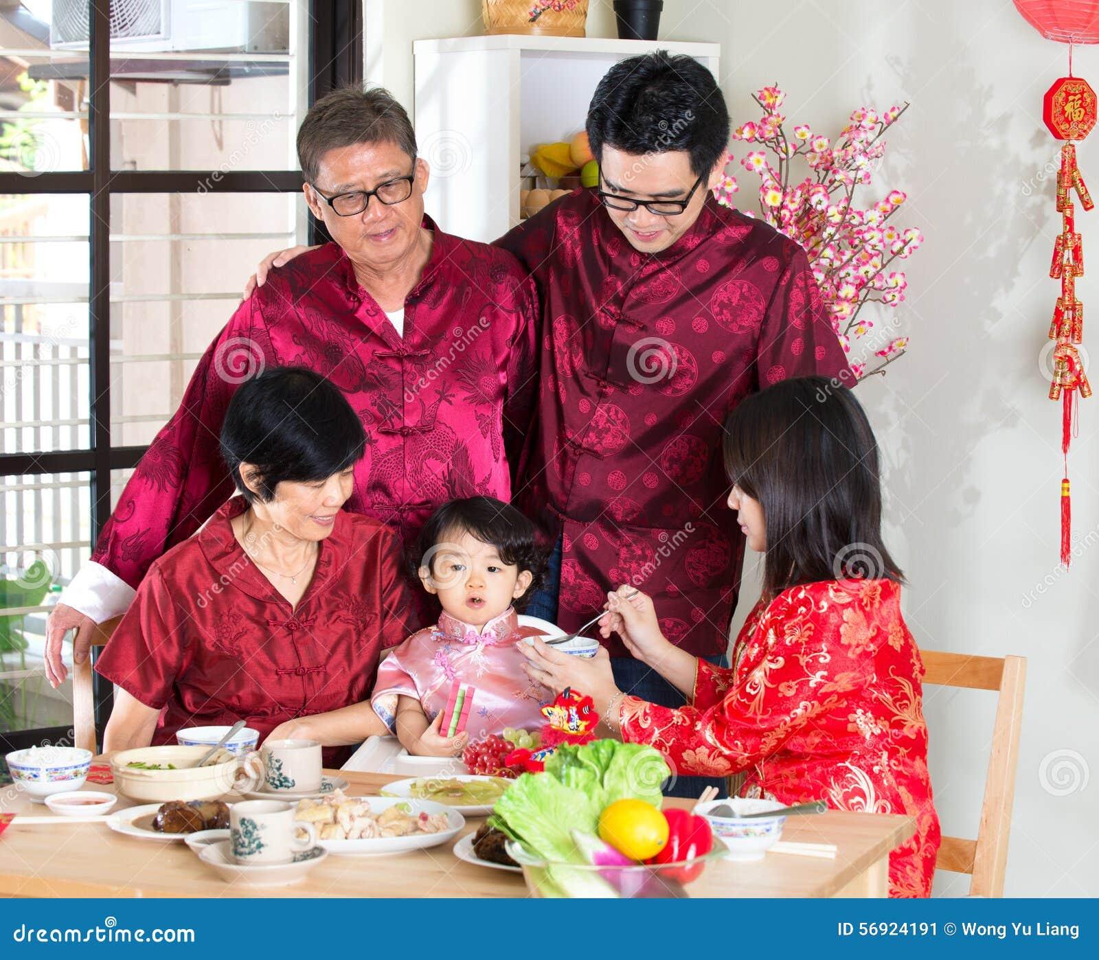 Κινεζικό νέο γεύμα συγκέντρωσης έτους
