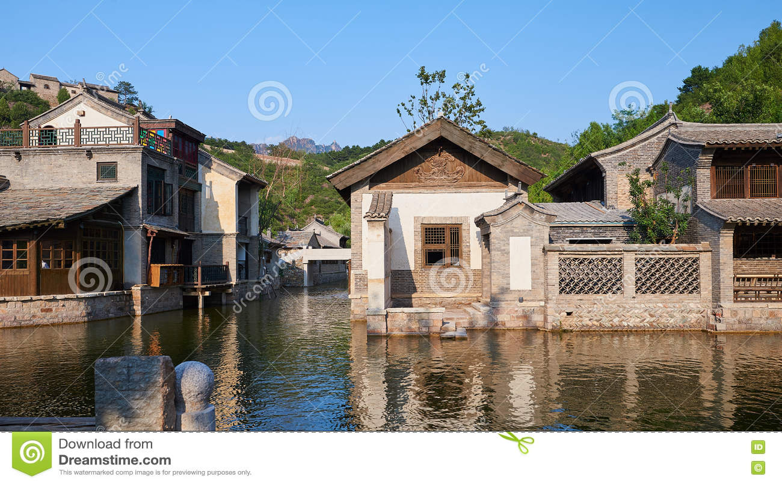 κινεζικό πόλης ύδωρ
