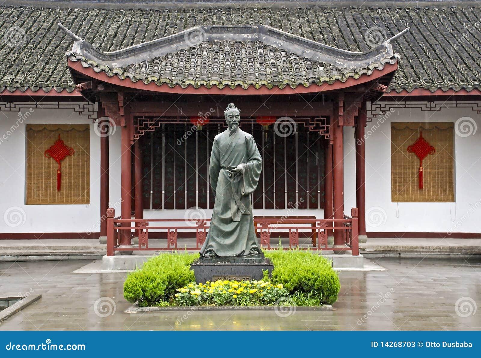 κινεζικό τσάι αγαλμάτων φ&upsilo