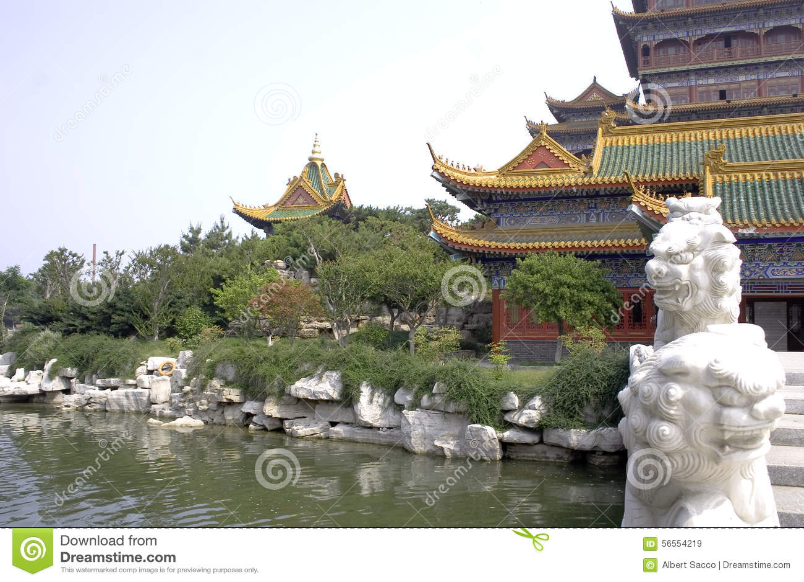 Download κινεζικό χωριό στοκ εικόνα. εικόνα από ancientness, κινεζικά - 56554219
