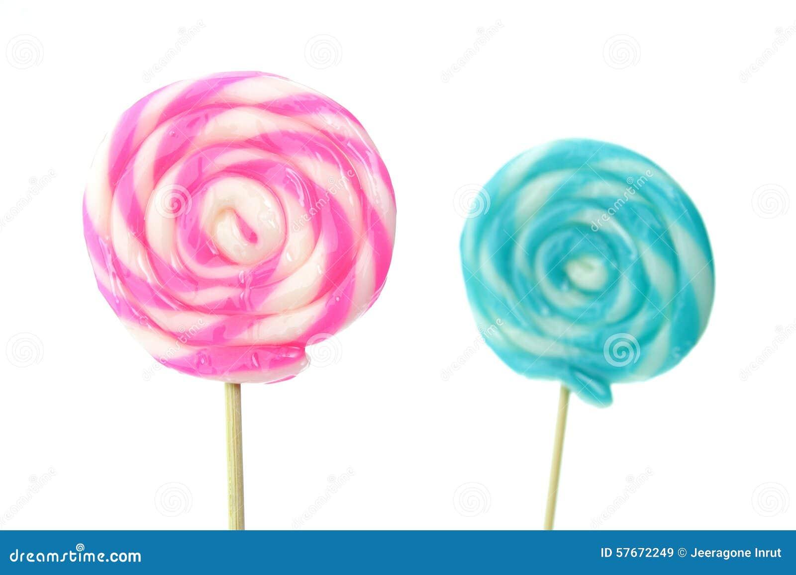 Κινηματογράφηση σε πρώτο πλάνο Lollipops
