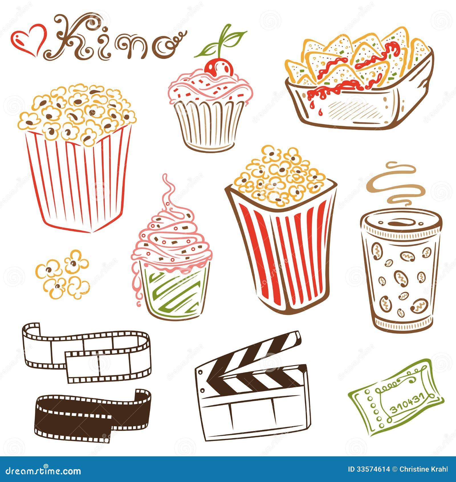 Κινηματογράφος, κινηματογράφος, popcorn