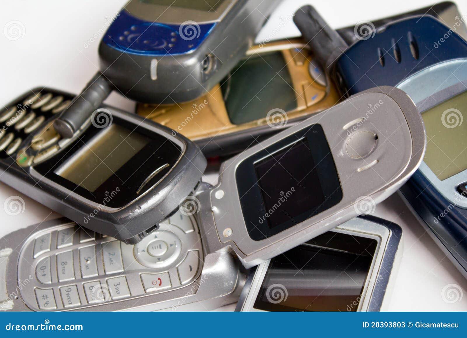 κινητά παλαιά τηλέφωνα