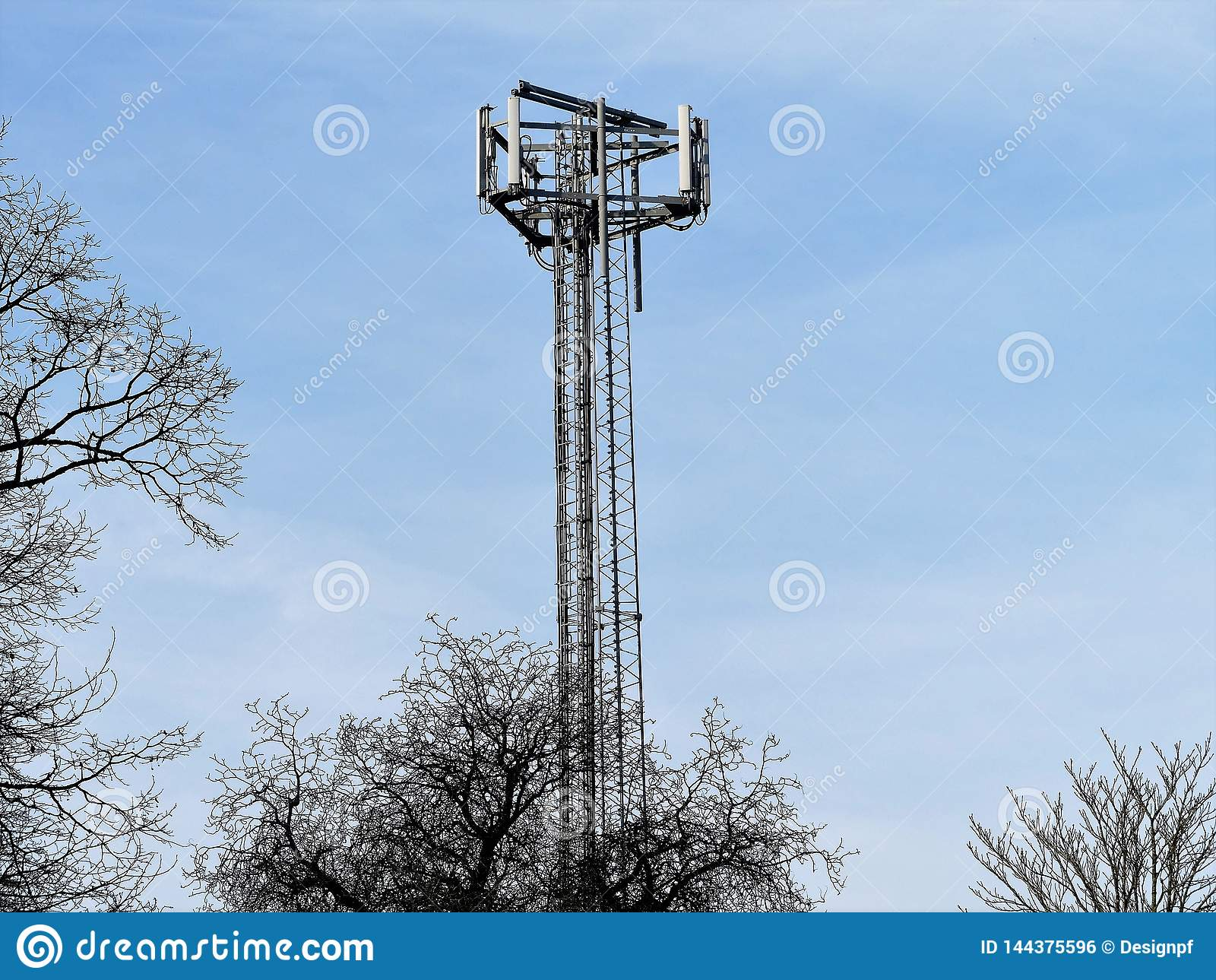 Κινητός τηλεφωνικός ιστός, Chorleywood